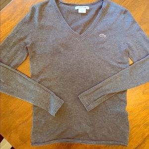 Charcoal Lacoste pullover
